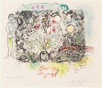 la feerie by marc chagall