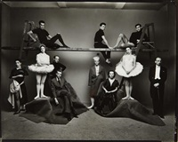 ballet theatre, new york by irving penn