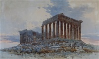 the parthenon, greece by angelos giallina