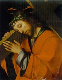 christ carrying the cross by gian-francesco de maineri