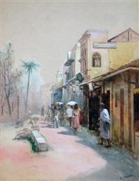 market scene by william joseph wadham