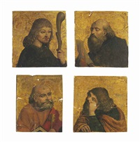 four apostles (set of 4) by giovanni martino spanzotti