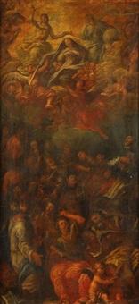 krönung der jungfrau maria mit heiligen by anonymous-bohemian