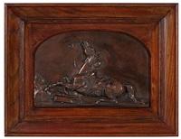 fallen horse by john quincy adams ward