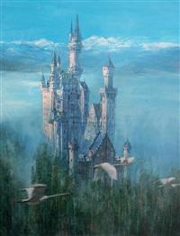 swan castle by chen weizhong