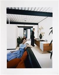 case study house #21 (architecte : pierre koenig), los angeles, californie by julius shulman