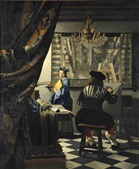 the art of painting by johannes (van delft) vermeer