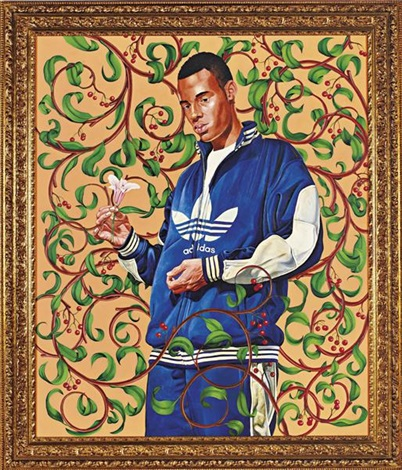 passingposing lady innes by kehinde wiley