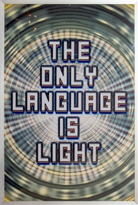 the only language is light by mark titchner
