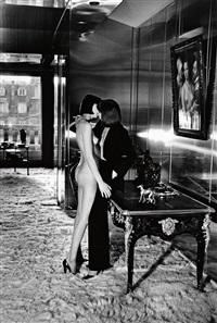 mannequins, quai d'orsay ii by helmut newton