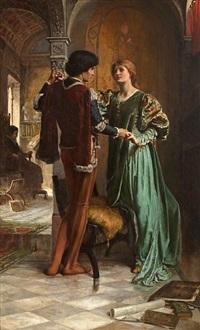 the betrothal by george percy r. e. jacomb-hood