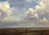 by the seaside by albert bierstadt