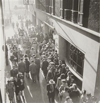 foule - chicago by walker evans