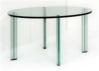 table ronde modèle tesso by renzo piano