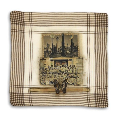 pompeii band from hankie series by betye saar