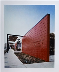 l'usine firestone (architectes : pereira, luckman & associates), los angeles, californie by julius shulman