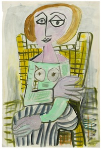 untitled (seated female figure) by john anthony (tony) tuckson