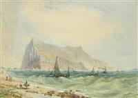 gibraltar by john miller (general sir) adye