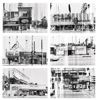 sunset strip (set of 6) by ed ruscha