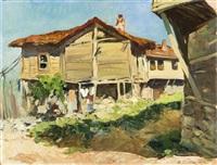 maison de campagne by vyacheslav pavlovich bychkov