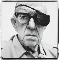 john ford, director, bel air, california, april 11 by richard avedon