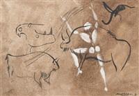 etude préhistorique avec empreinte by jérôme mesnager