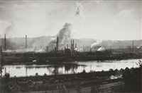 complexe industriel. travail pour fortune - états unis by walker evans