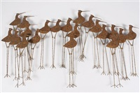 sandpipers by curtis jere