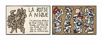 la botte à nique (bk w/1 work) by jean dubuffet