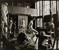 atelier antoine bourdelle, 22 octobre by mark arbeit