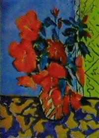 les fleurs dans le vase by rakhim akhmedov