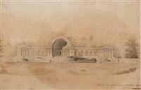 architectonial studie, st. petersburg by giacomo quarenghi