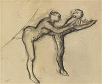 deux danseuses en maillot by edgar degas