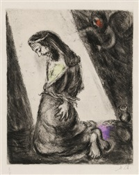pl.102 from 'bible' by marc chagall