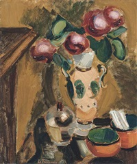 nature morte by henri le fauconnier