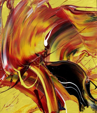 sacred flame by kazuo shiraga
