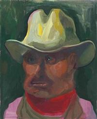 cowboy by dana schutz