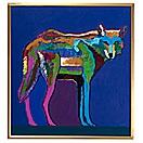 mexican gray wolf by john nieto