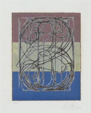 o through 9 by jasper johns
