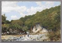 river scene by josé arpa perea