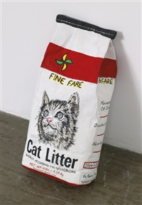 cat litter by robert gober