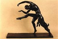 danseuse et bouquetin by alexandre morlon
