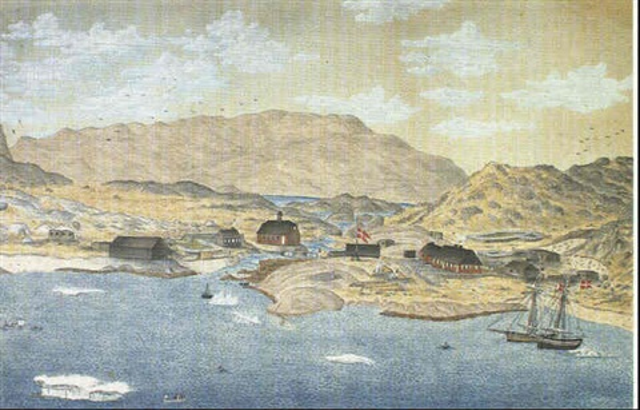 parti fra julianehaab i gronland by jacob andreas augustinus aroe
