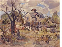 the abandoned farm by charles reiffel