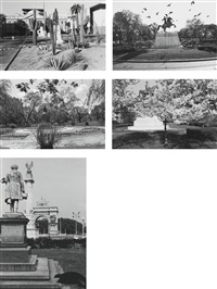 selected images (8 works) by lee friedlander
