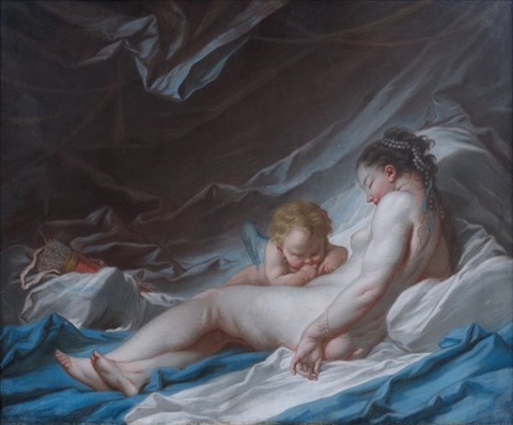 Vénus et lAmour par François Boucher sur artnet