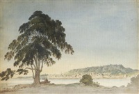 montreal viewed from ile sainte-hélène by benjamin (major-general) fisher