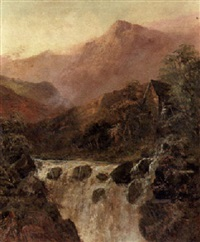 highland waterfalls by jessie macgregor