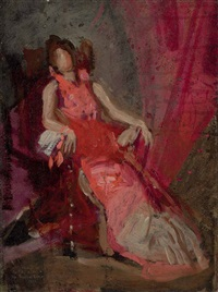 the actress (study) by thomas eakins