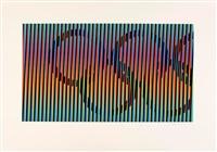 composition pour les jo by carlos cruz-diez